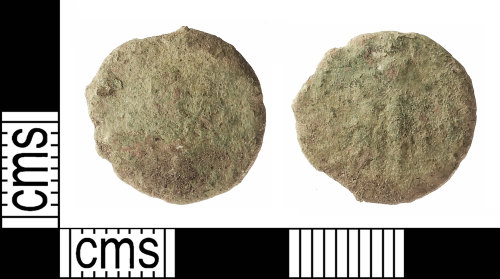IOW-CA453A: Roman Coin: Nummus of the House of Valentinian