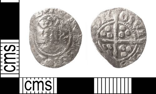 IOW-18ABF7: Medieval Coin: Penny of Edward