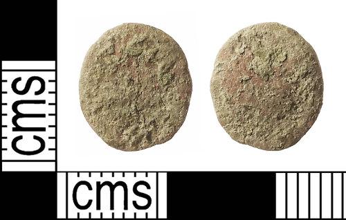 IOW-89124E: Roman Coin: Nummus, uncertain Emperor