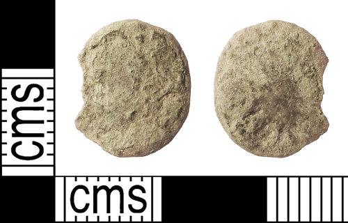 IOW-8A44CA: Roman Coin: Nummus, uncertain Emperor
