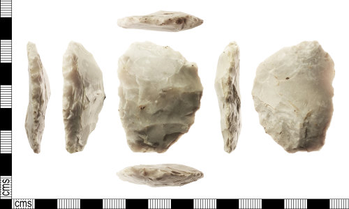 IOW-53B89E: Neolithic: Flint Implement (possibly a knife)