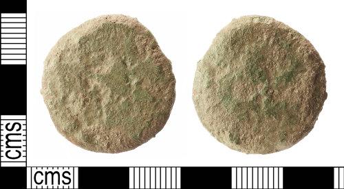 IOW-52C256: Roman Coin: Dupondius or As (uncertain ruler)