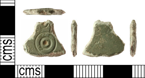 IOW-BC5CA9: Early-Medieval (Anglo-Saxon): Small-long Brooch