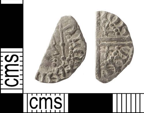 IOW-324226: Medieval Coin: Cut Halfpenny of Alexander III of Scotland