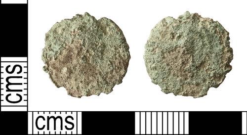 IOW-C68531: Roman Coin: Nummus (unclear type, AD 330-402)