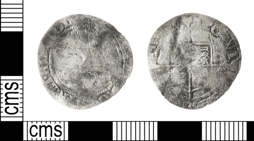 IOW-379DCB: Post-Medieval Coin: Groat of Elizabeth I