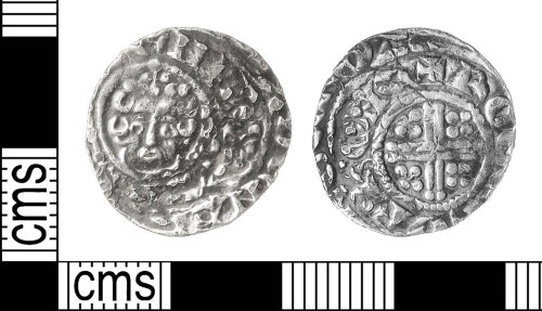 IOW-F2DE91: Medieval Coin: Penny of Henry III