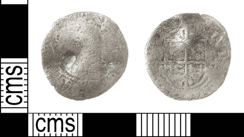 IOW-771DB3: Post-Medieval Coin: Halfgroat of Elizabeth I