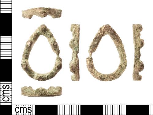 IOW-AEC70C: Medieval: Annular Brooch