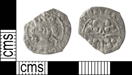 IOW-CD6F5B: Medieval Coin: Penny of Edward IV