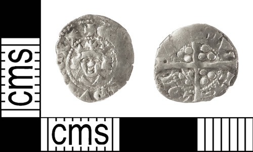 IOW-6A2CB9: Medieval Coin: Farthing of Edward II