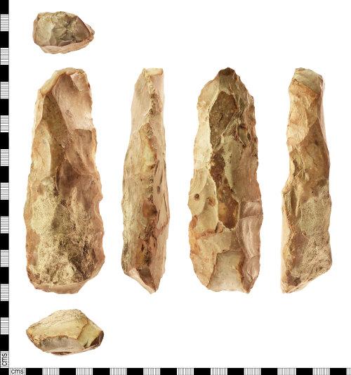 IOW-3B87BD: Neolithic: Flint Adze