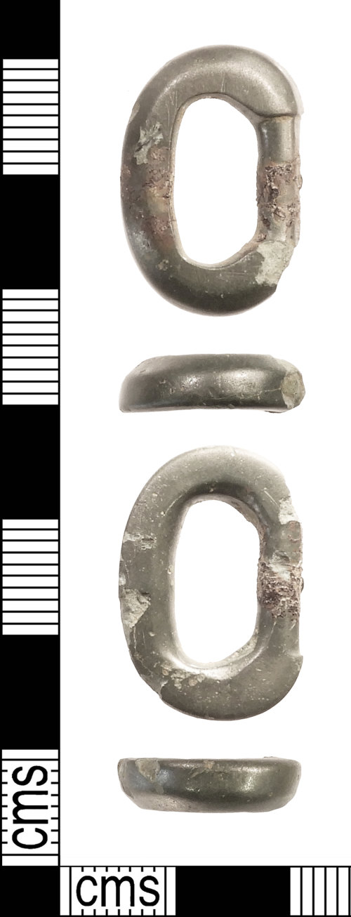 IOW-17A453: Early-Medieval (Anglo-Saxon): Buckle