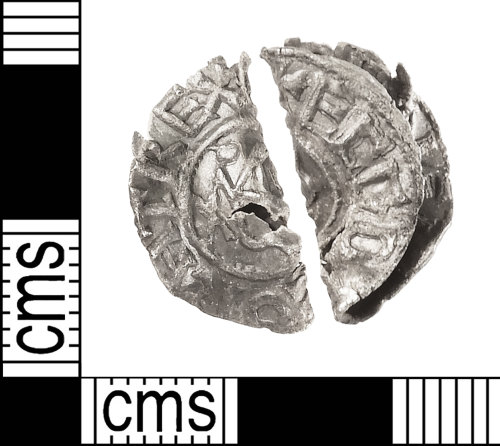 IOW-1819EC: Early-Medieval (Anglo-Saxon): Penny of Ecgberht