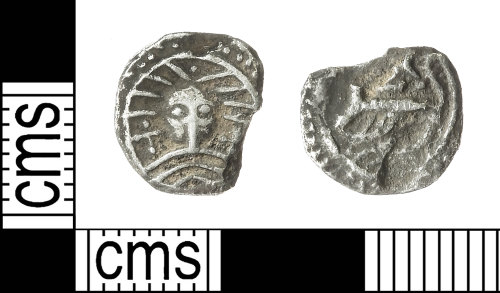 IOW-E3F3F3: Early-Medieval (Anglo-Saxon) Coin: Series X, Type 31, X120 Sceat