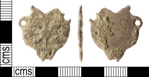 IOW-700468: Post-Medieval: Dress Fastener (eye-piece)