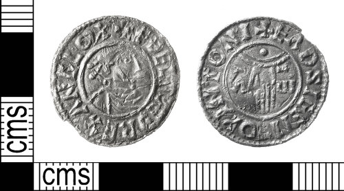 IOW-34EEEC: Early-Medieval (Anglo-Saxon) Coin: Penny of Aethelred II