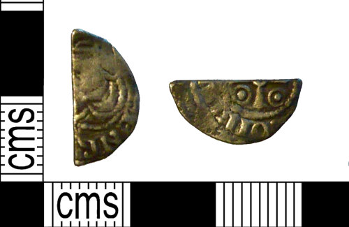 PUBLIC-D5EEB3: A Medieval silver halfpenny of Henry I 'Smaller Profile/Cross and Annulets'