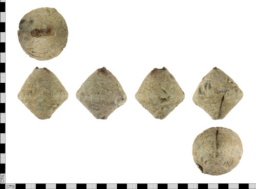 A resized image of Roman Steelyard Weight