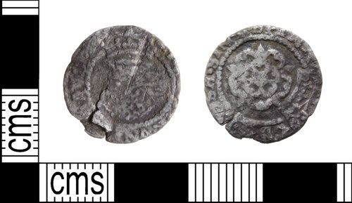 WILT-4210D3: Post-Medieval Halfgroat
