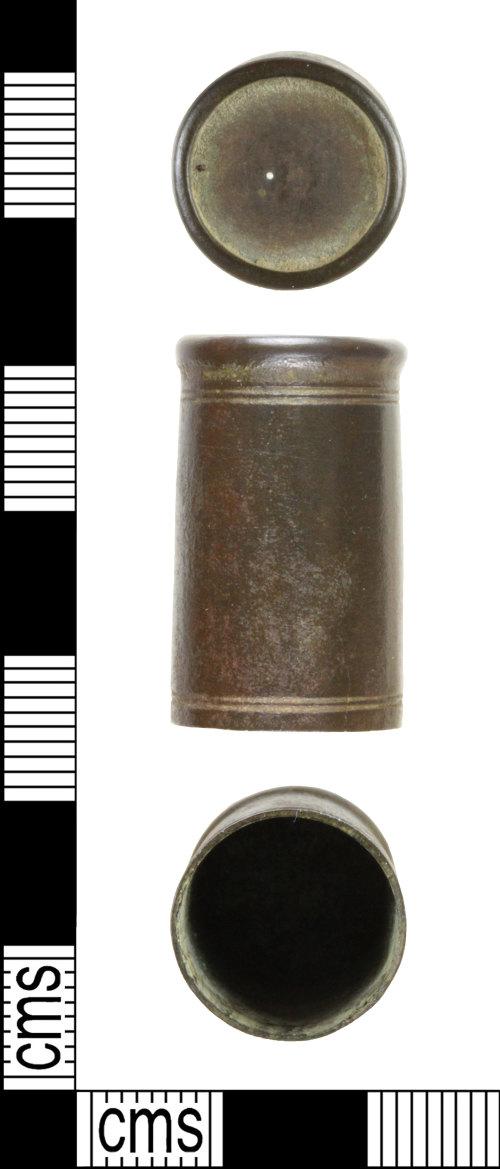 WILT-47B951: Post-Medieval Pen Lid