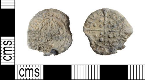 WILT-ABF826: Post-Medieval Lead Token