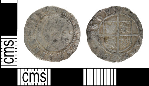 WILT-B9BF8A: Post-Medieval Halfgroat