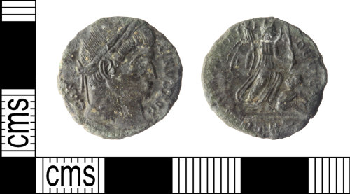 WILT-C6B777: House of Constantine Nummus