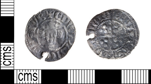 WILT-C90BFB: Medieval Penny