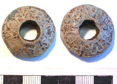 LVPL-9F9737: Lead spindle whorl