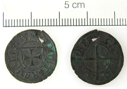 LVPL-277230: Post-Medieval silver coin from Riga, Livonia.