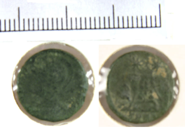 LVPL-DF3674: No. 45. Copper alloy nummus of the House of Constantine (307-361), minted in Trier, 330-331 AD. RIC VII, p.215, no.529