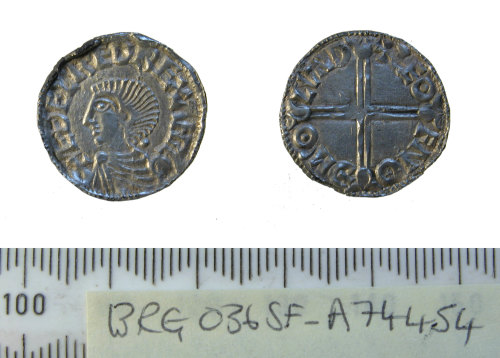 SF-A74454: Early medieval coin