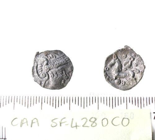 SF-4280C0: Iron Age coin