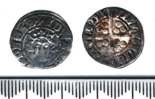 A resized image of Medieval coin