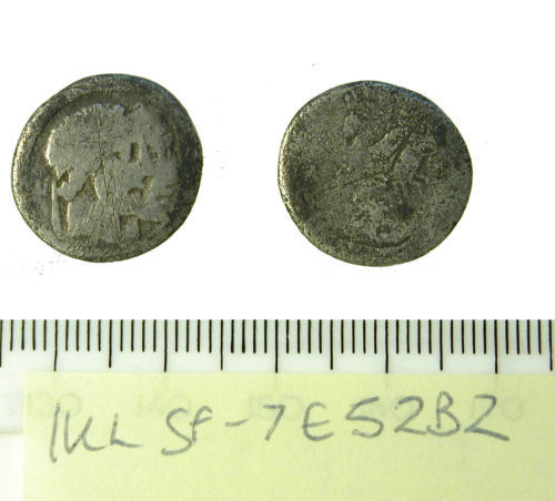SF-7E52B2: Roman republic denarius