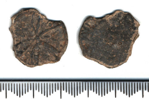 SF8721: Post medieval token