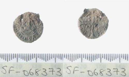 SF-068373: Boy Bishop lead token