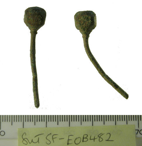 SF-E0B482: Early medieval pin
