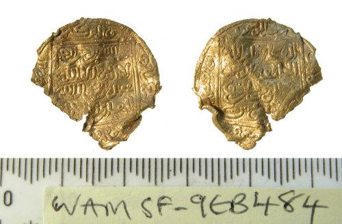 SF-9EB484: Early medieval dinar
