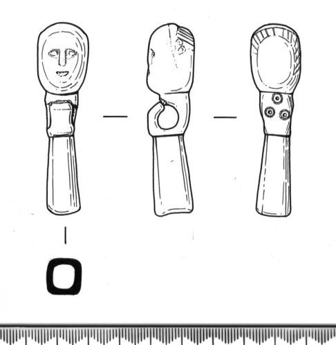 SF5471: Drawing of a RELIGIOUS PERSONAL ACCESSORY