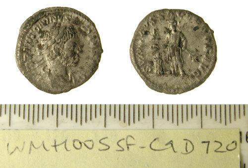 SF-C9D720: Roman denarius of Elagabalus