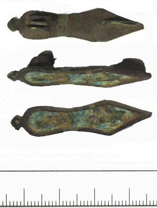 DUR-112837: Roman sandal brooch- DUR-112837