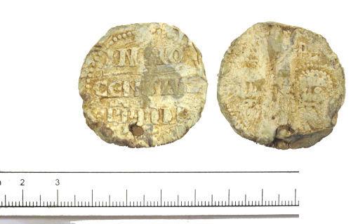 DUR-5EAB65: Papal bulla- Innocent IV- DUR-5EAB65