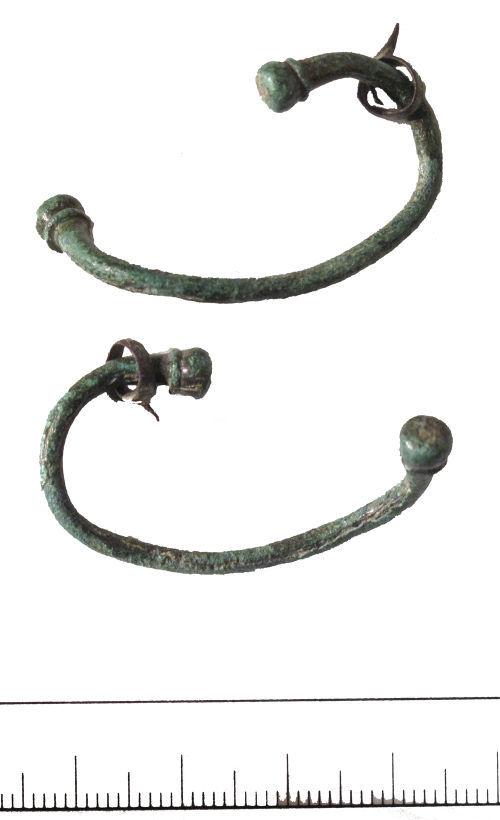DUR-F3E156: Penannular brooch- DUR-F3E156