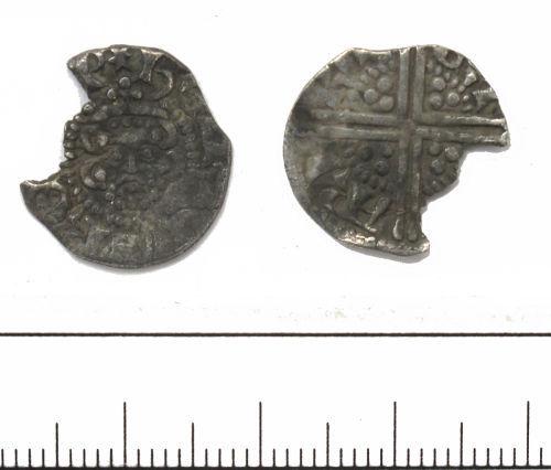 DUR-F42535: Henry III penny- Class 3 DUR-F42535