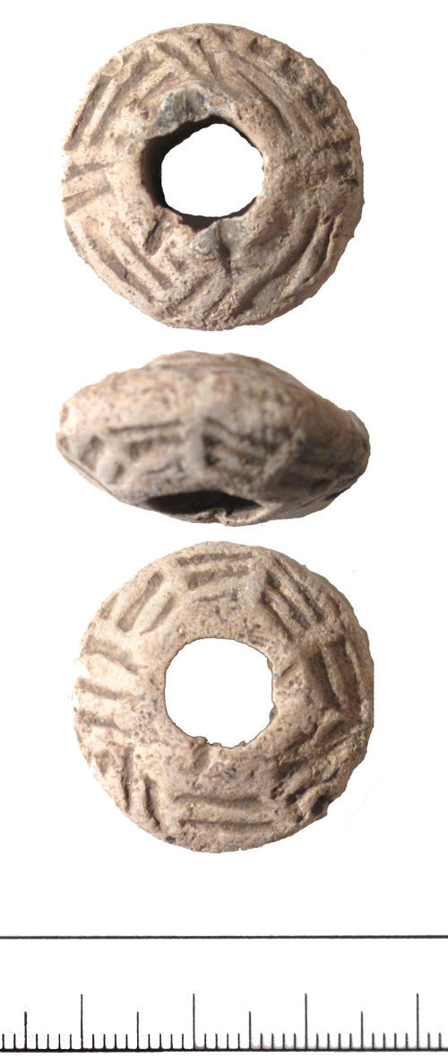 DUR-F66507: Spindle whorl- DUR-F66507