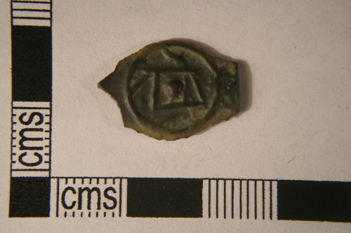 A resized image of Late Iron Age. Potin - Cantiaci. Reverse view.