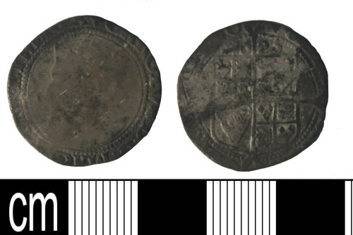 KENT-68B285: Popst Medieval. Sixpence of Charles I