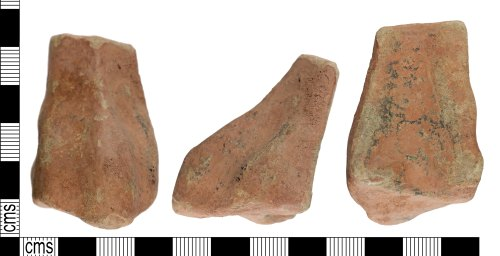 YORYM-402F06: Post medieval pot leg vessel
